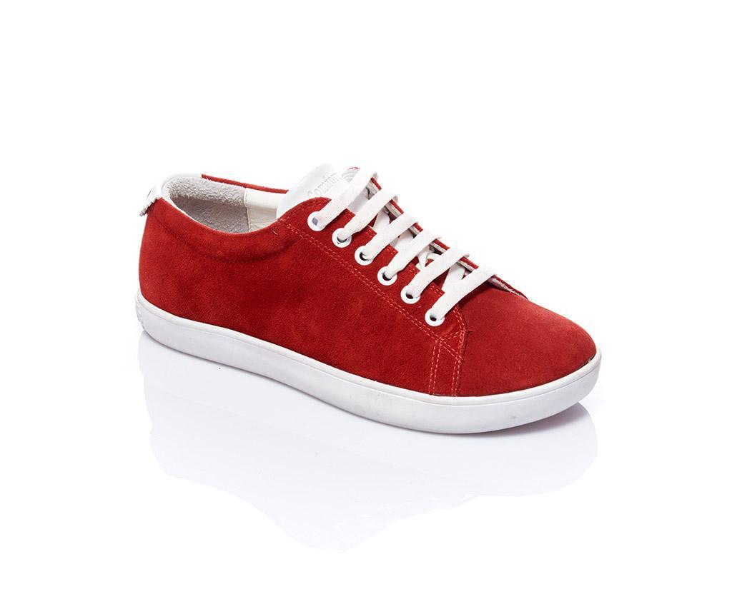 Pantofi sport dama Sorana Red Nubuck 36
