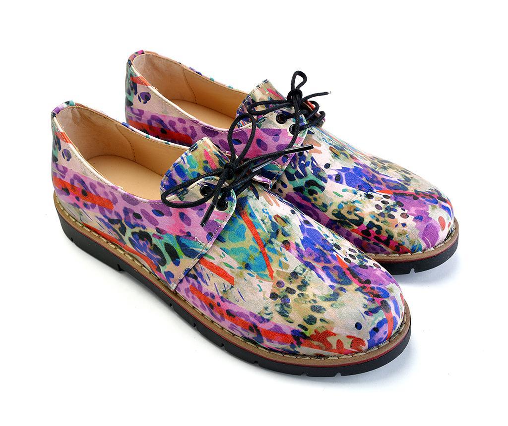 Pantofi dama Colorful Print 40