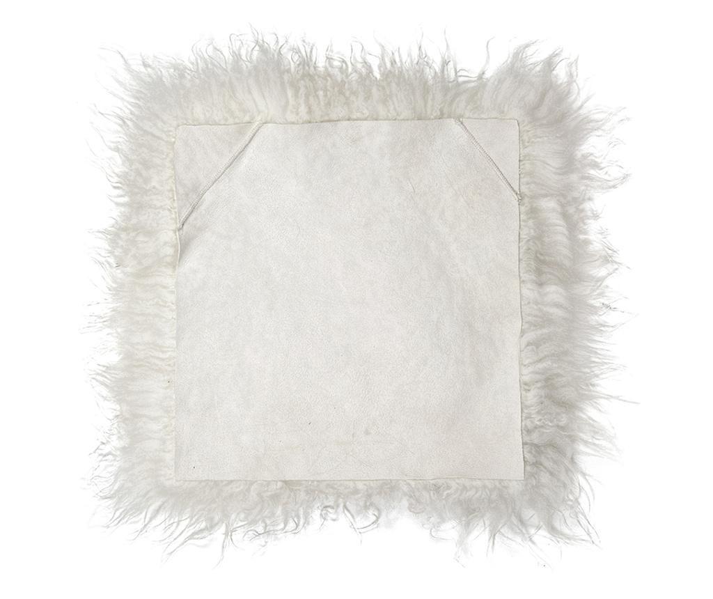 Sedežna blazina Icelandic Curly Natural White 37x37 cm