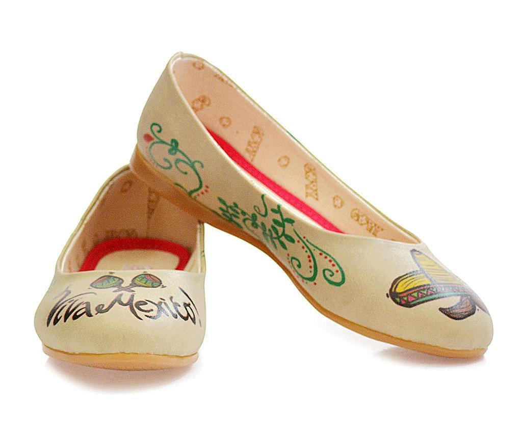 Női balerina cipő VIBA cipő