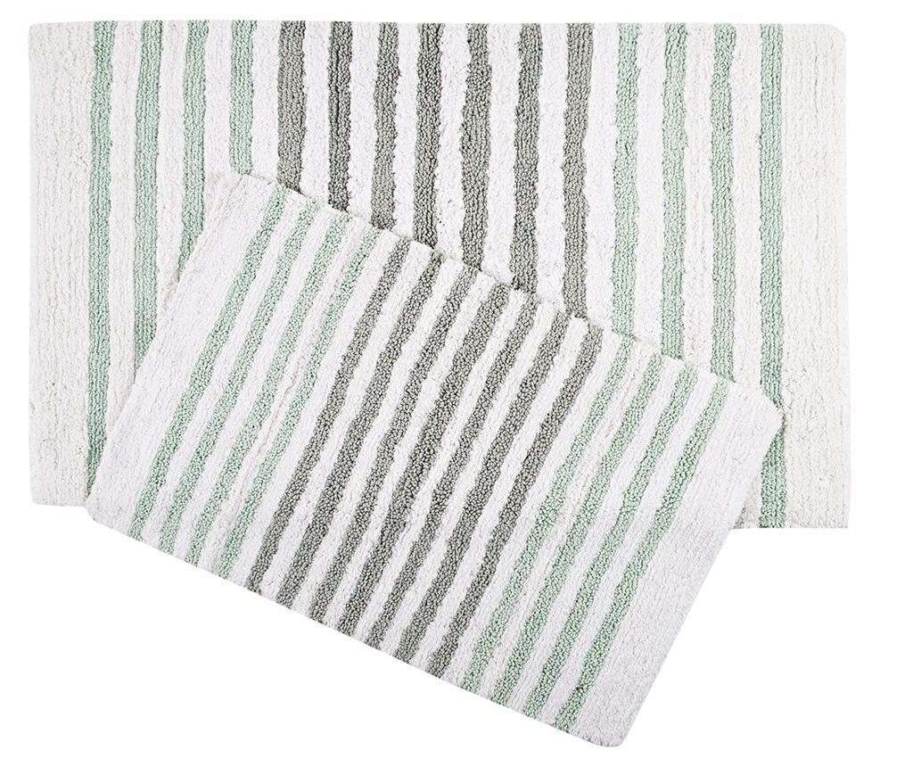 Grenada Green Grey 2 db Fürdőszobai szőnyeg