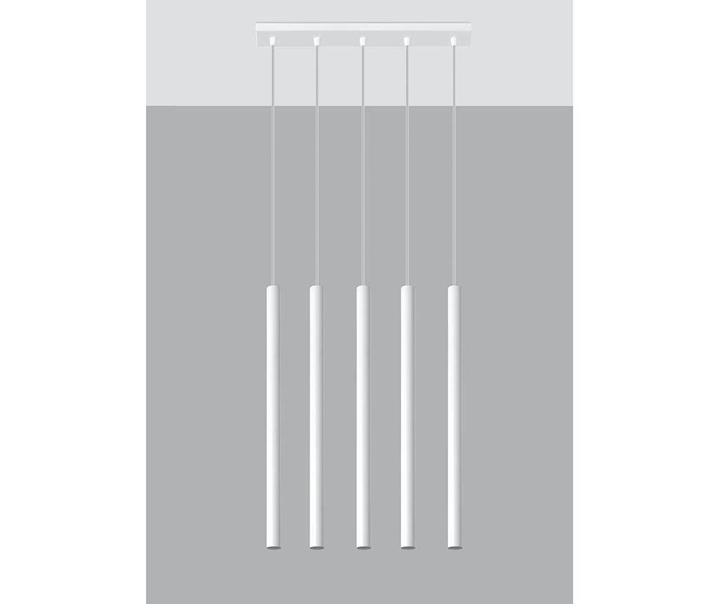 Závěsná lampa Fideus Five White
