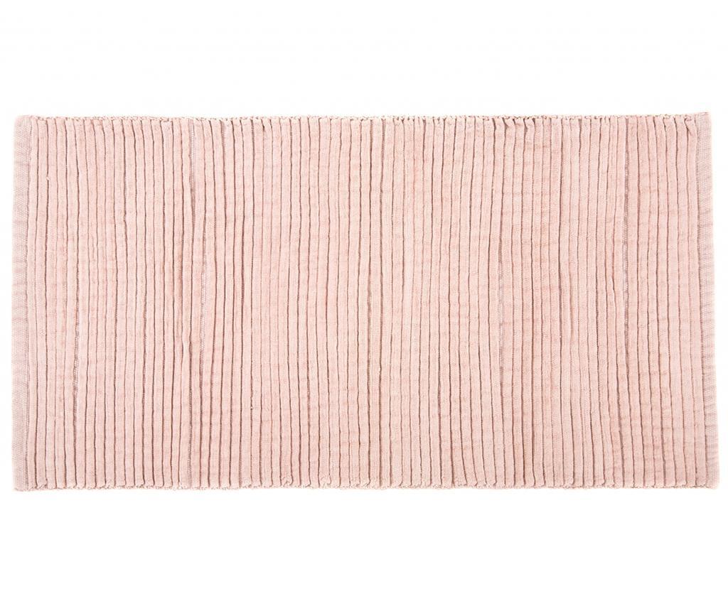 Covoras de baie Simon Pink 60x120 cm