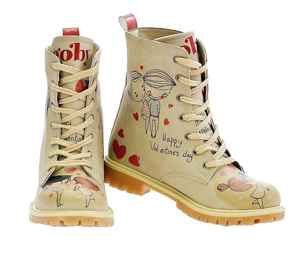 Modă vânzare cu amănuntul frumosi pantofi Bocanci dama Love You 41 - Vivre.ro