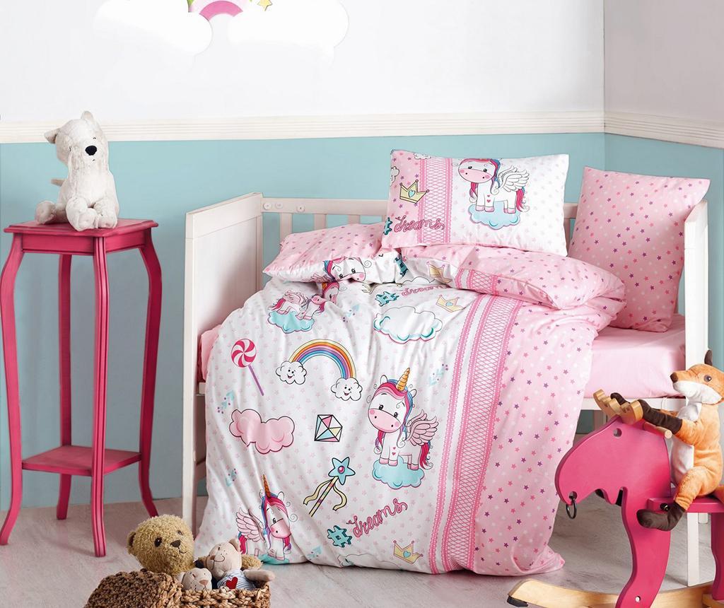Posteljina za krevetić Ranforce Supreme Unicorn