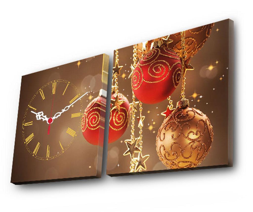 Set ceas si tablou Magical Globes