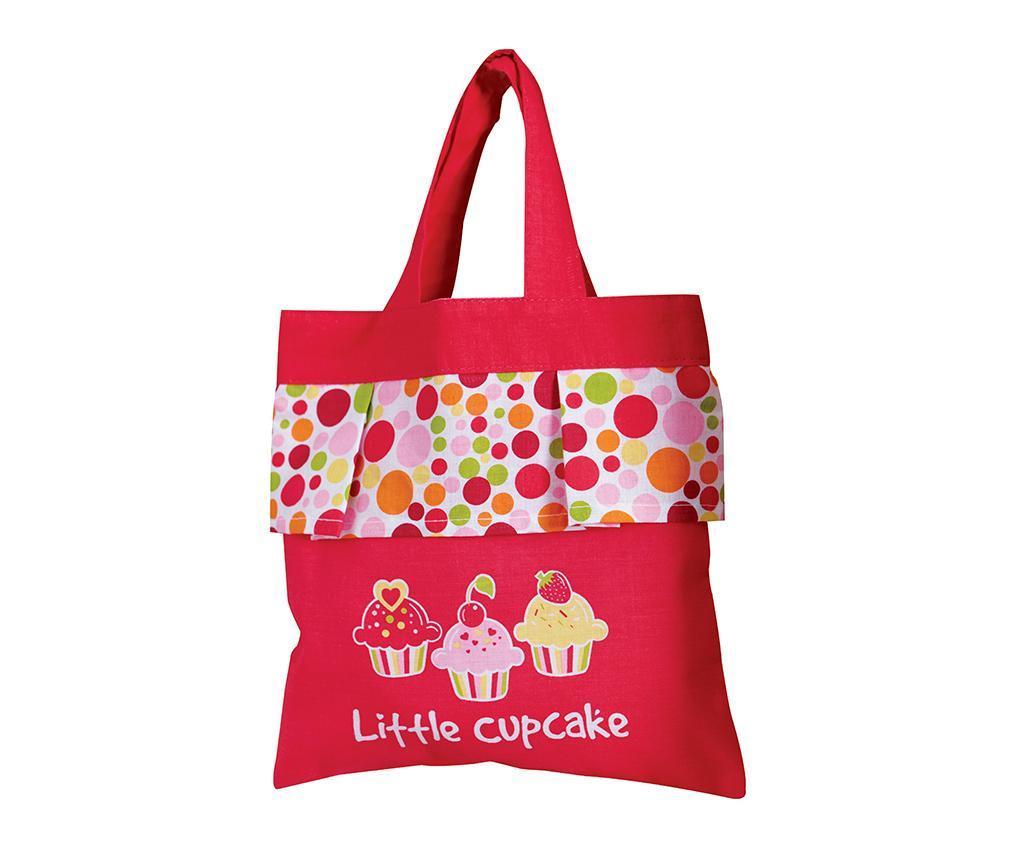 Geanta pentru cumparaturi pentru copii Little Cupcake