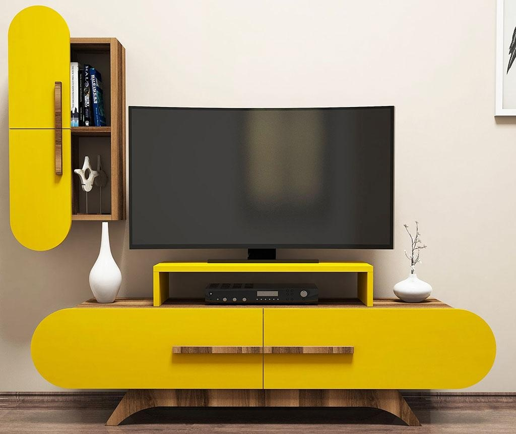 Set comoda TV si cabinet Gail