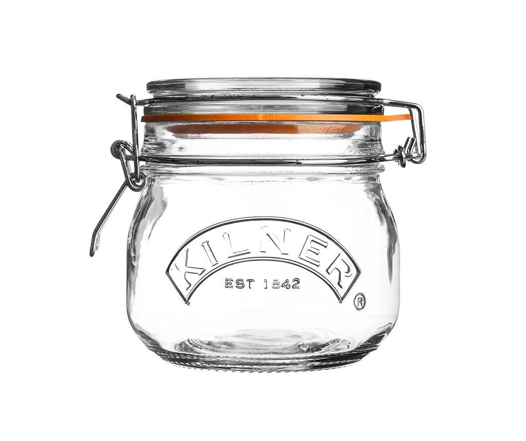 Steklenka s tesnilnim zapiranjem Clip Top 500 ml