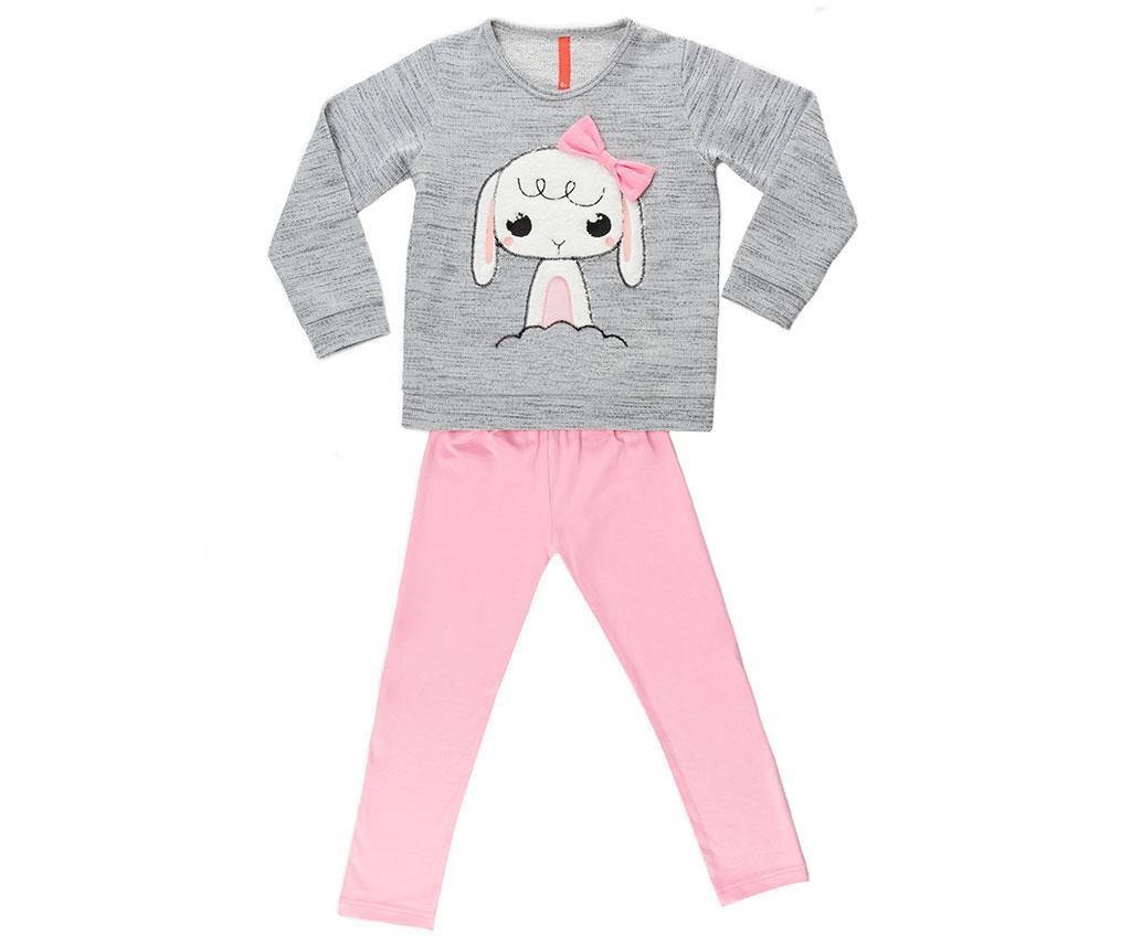 Set bluza si colanti copii Bunny 2 ani