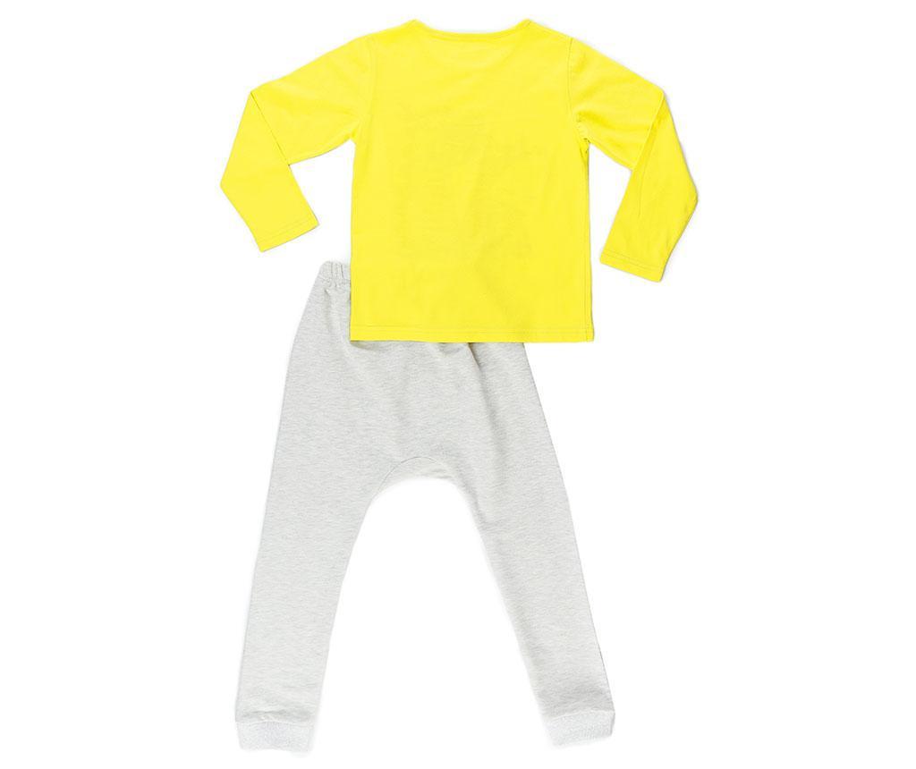Set bluza si pantaloni copii Baggy Dino Gang 3 ani