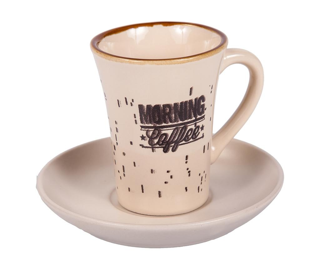 Morning Coffee Tall 6 db Csésze és 6 db kistányér