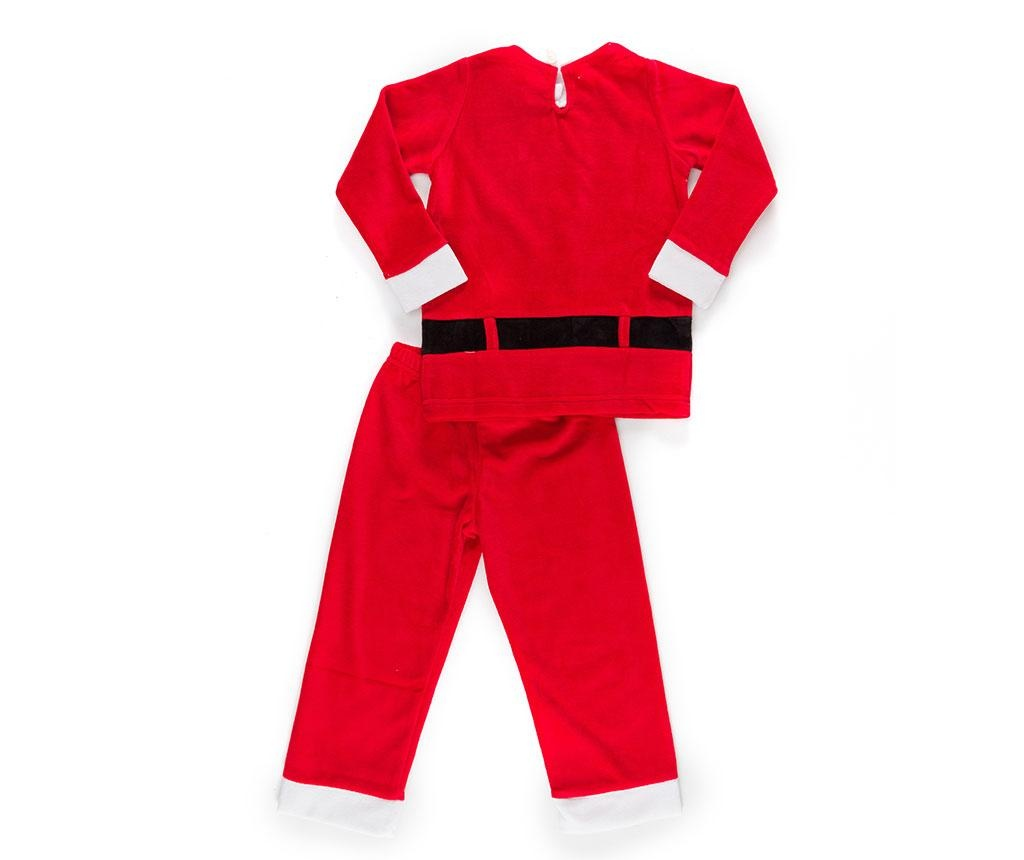 Set bluza si pantaloni pentru copii Christmas  Santa Boy 5 ani