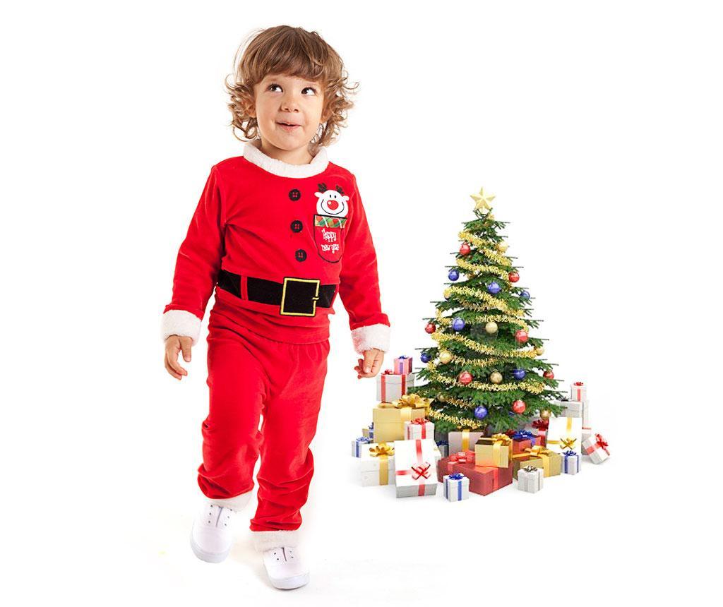 Otroški komplet - majica in hlače Christmas  Santa Boy 4 let