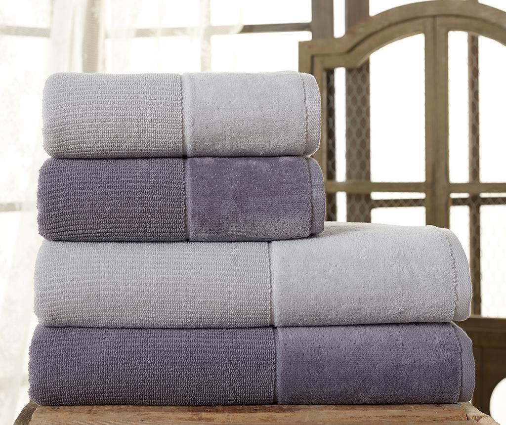 Zestaw 4 ręczników kąpielowych Kerr