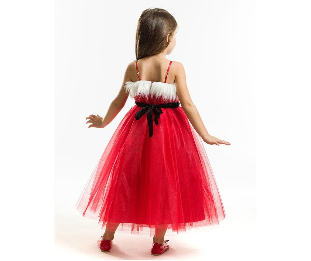 Otroška obleka brez rokavov Tulle Christmas Fairy 6 let