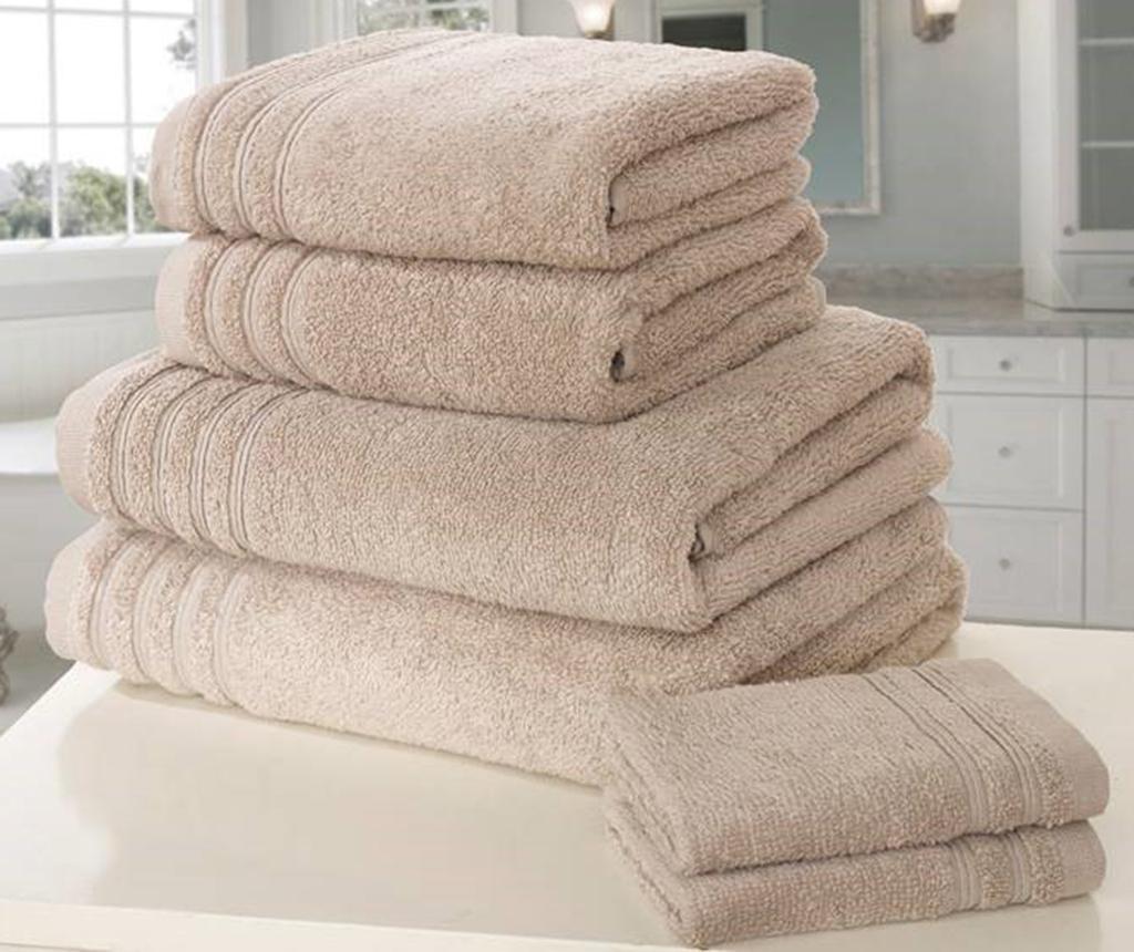 Set 6 kupaonskih ručnika So Soft Taupe