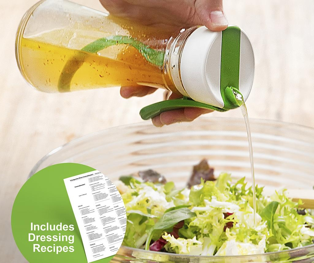InnovaGoods Vinaigrette Tároló salátaöntetnek 300 ml