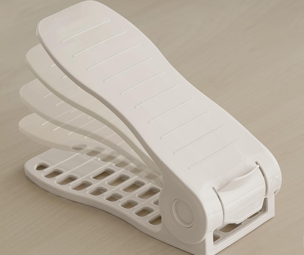 Set 6 suporturi pentru pantofi InnovaGoods Rack Adjustable