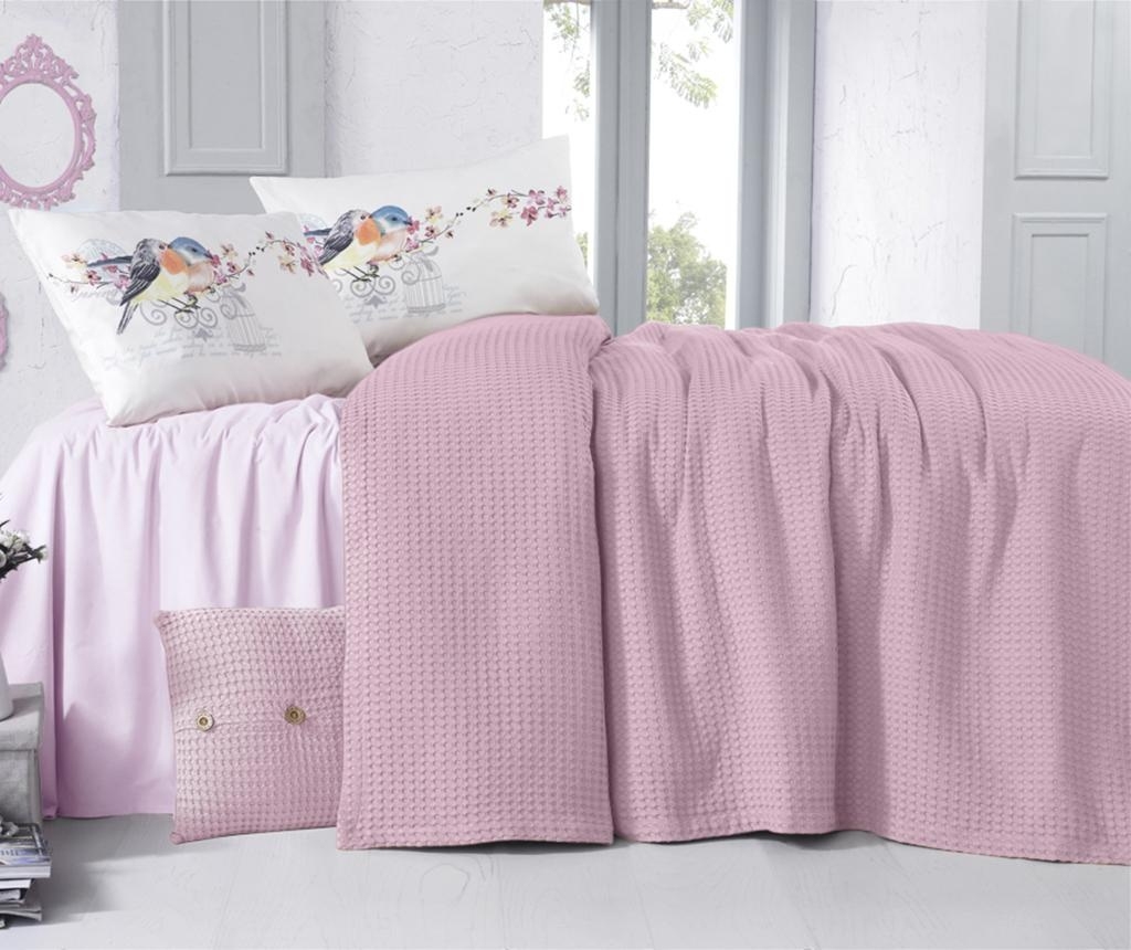 Cuvertura Rami Pink 180x230 cm
