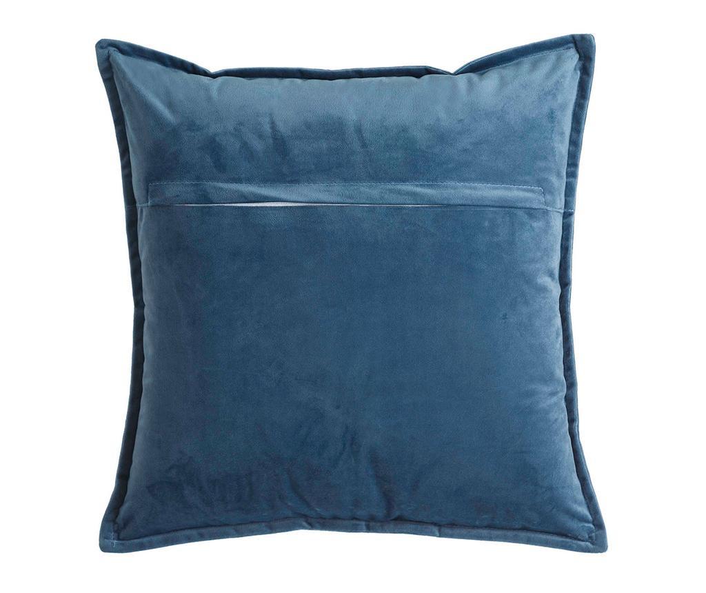 Perna decorativa Fabio Blue 45x45 cm