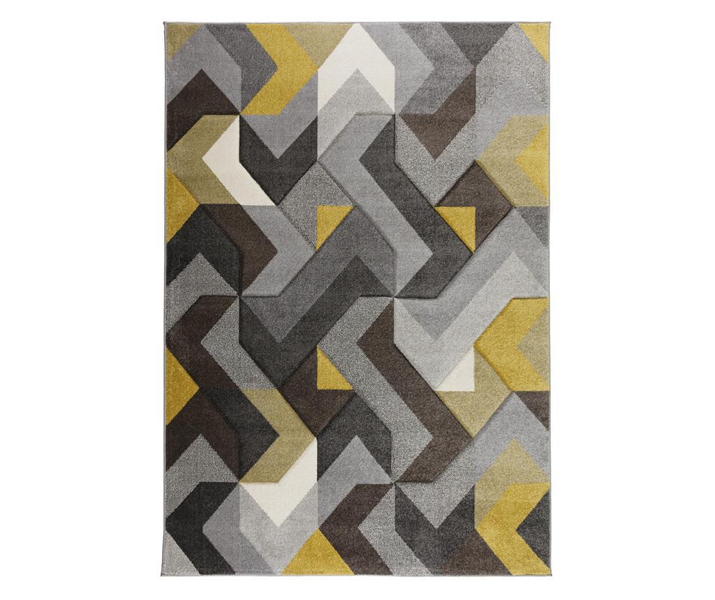 Tepih Aurora Grey & Yellow 120x170 cm