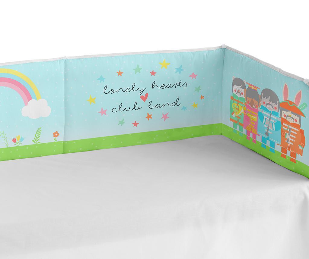 Zaštita za krevetić Lonely Band 40x180 cm