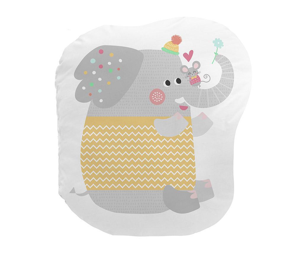 Perna decorativa Love Is All Elefante 30x40 cm