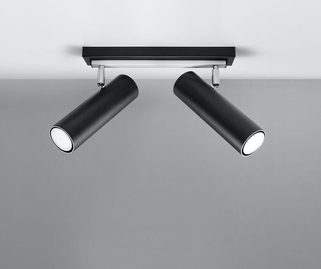Stropna svjetiljka Mira Two Black