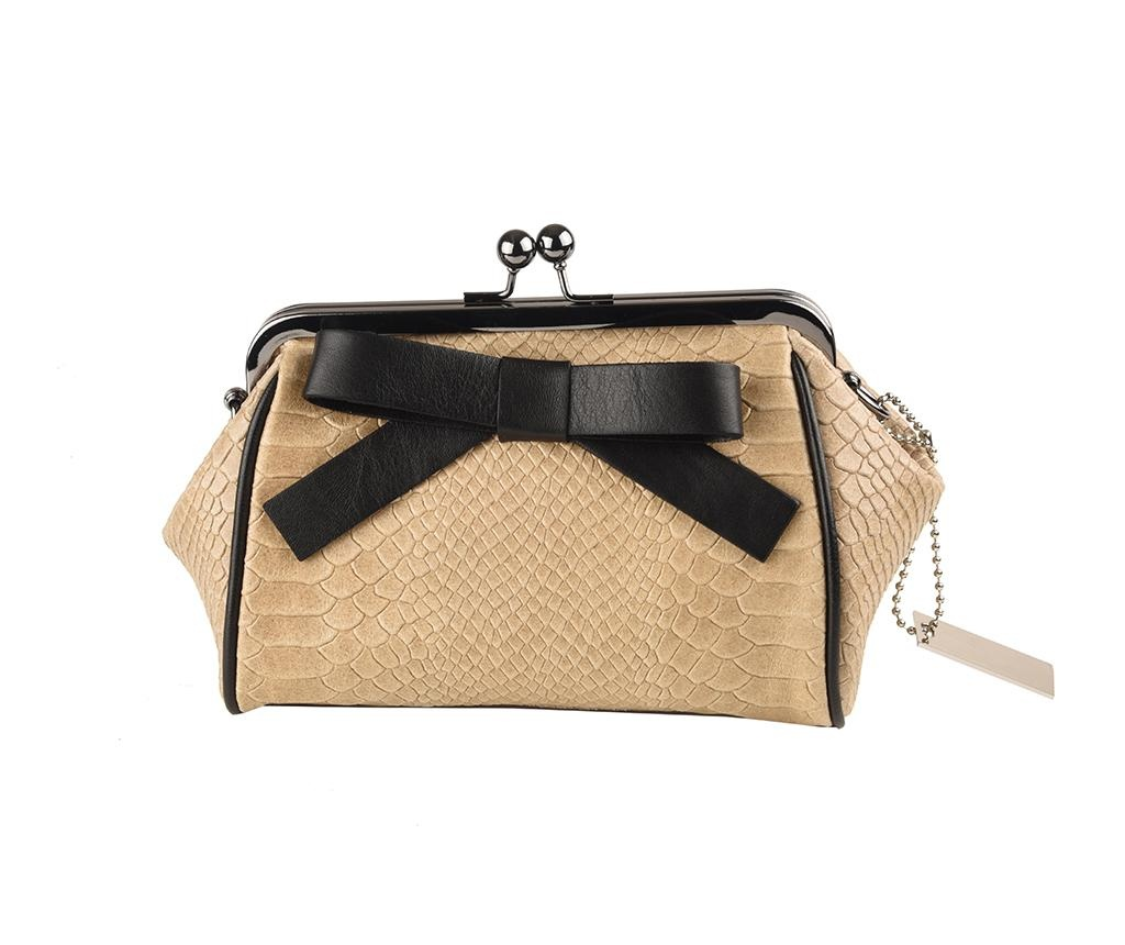 Geanta clutch Abag Taupe