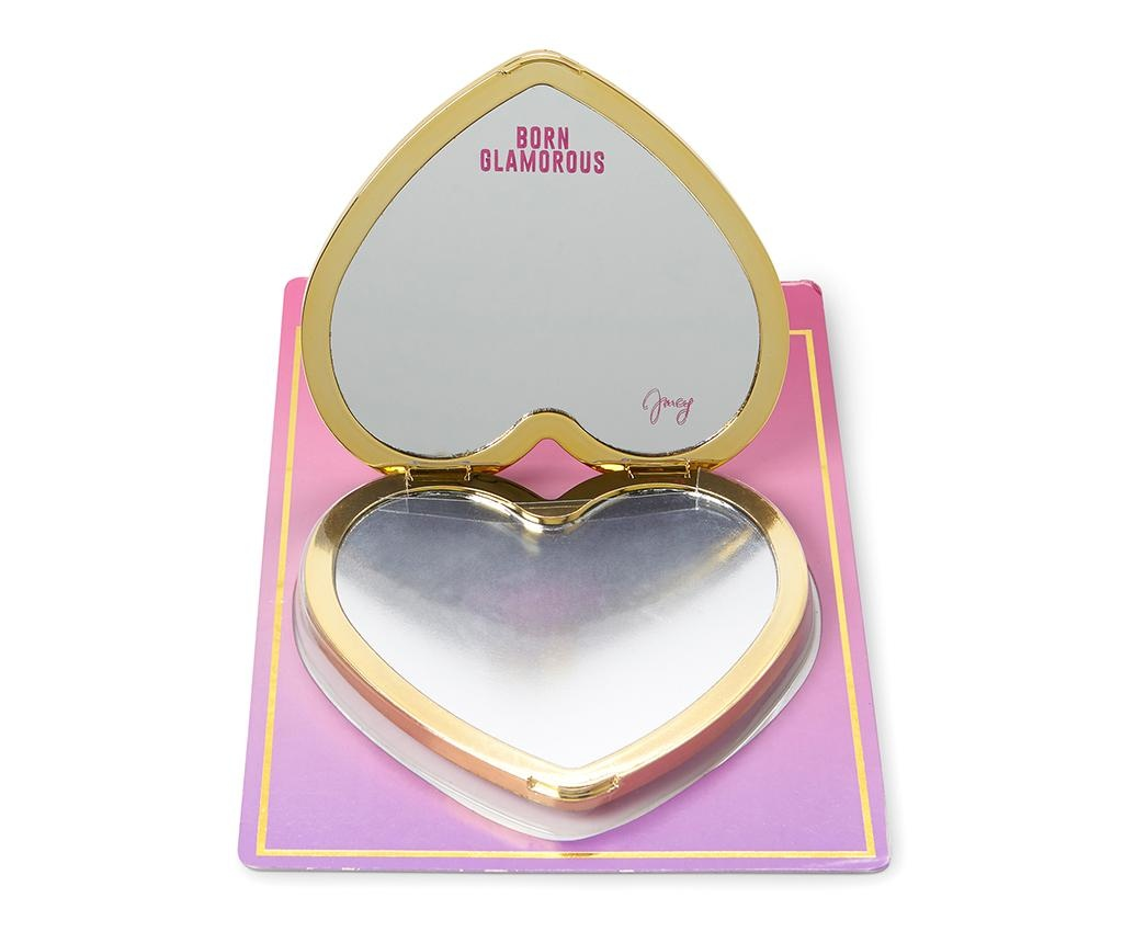 Kompaktní zrcátko Juicy Heart