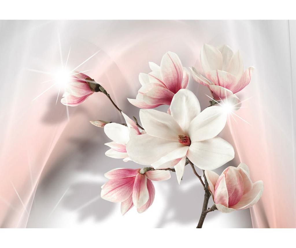White Magnolias Tapéta 245x350 cm