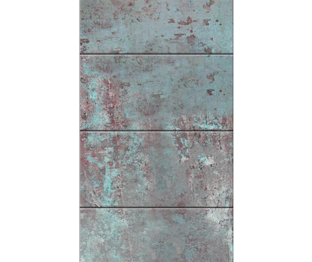 Turquoise Concrete Tapéta 50x1000 cm