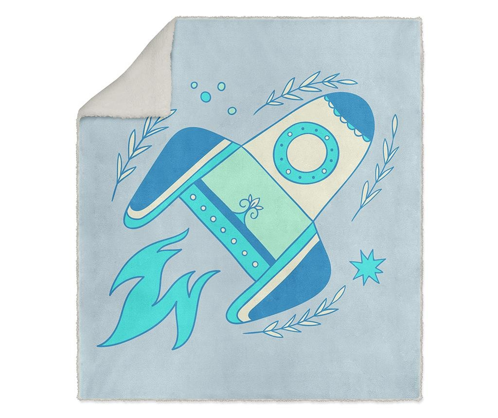 Pokrivač Roket 130x160 cm