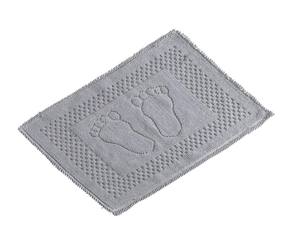 Dywanik łazienkowy Feet Grey 50x70 cm