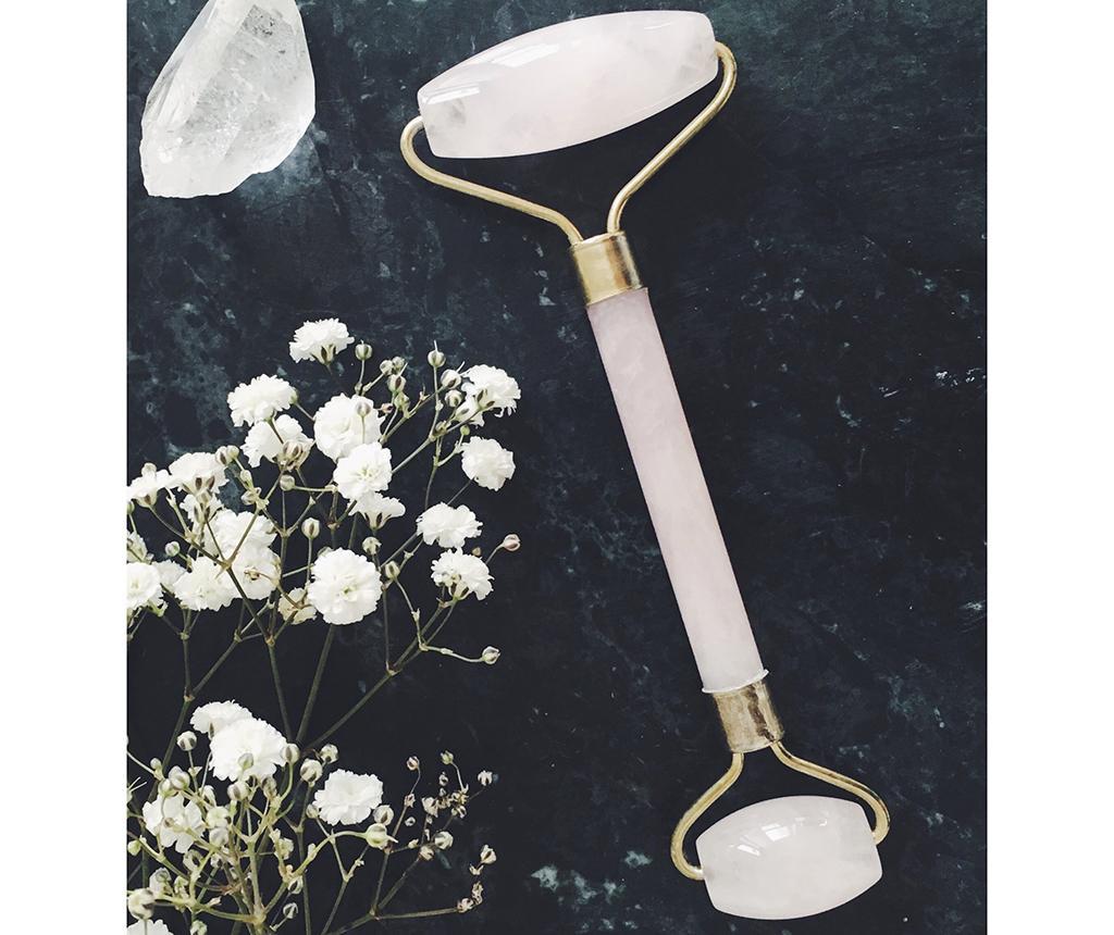 Dvojitá masážna rolka na tvár Luxurious Quartz Crystal