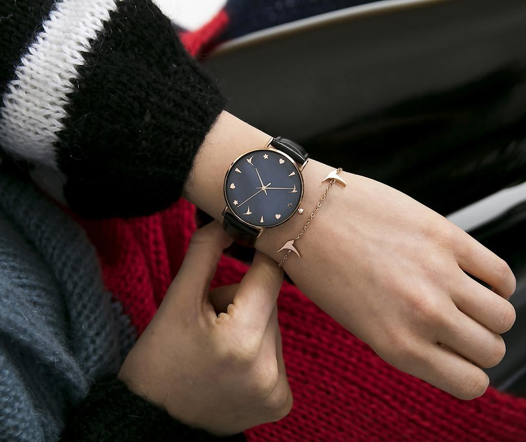 Ženski ručni sat Emily Westwood Sorana Black