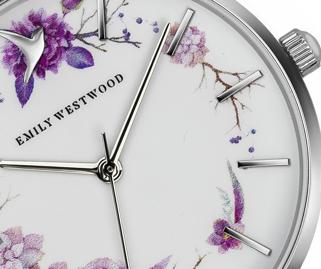 Ceas de mana dama Emily Westwood Maroc Silver
