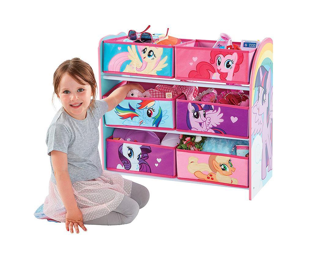 My Little Pony Polcállvány 6 kosárral