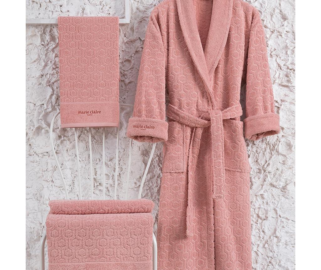 Set textile pentru baie 3 piese Gladis Salmon M