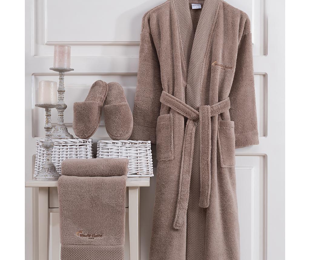 Комплект текстил за баня 3 части Jaina Taupe L