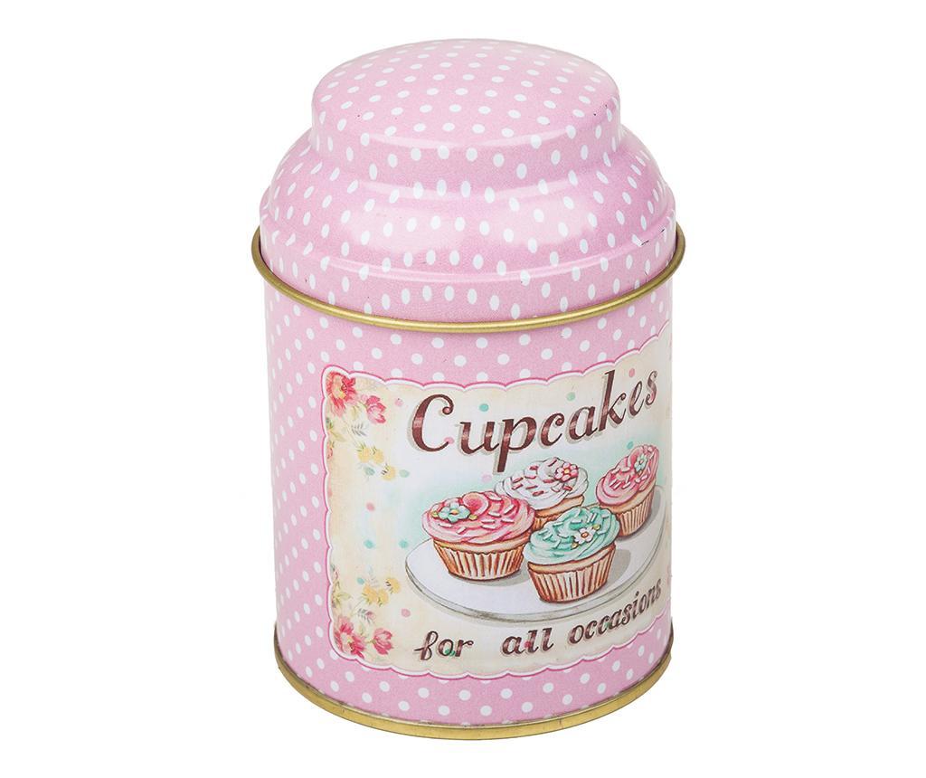 Škatla s pokrovom Cupcakes