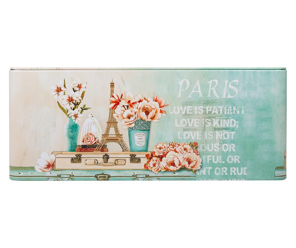 Škatla za robčke Paris Love