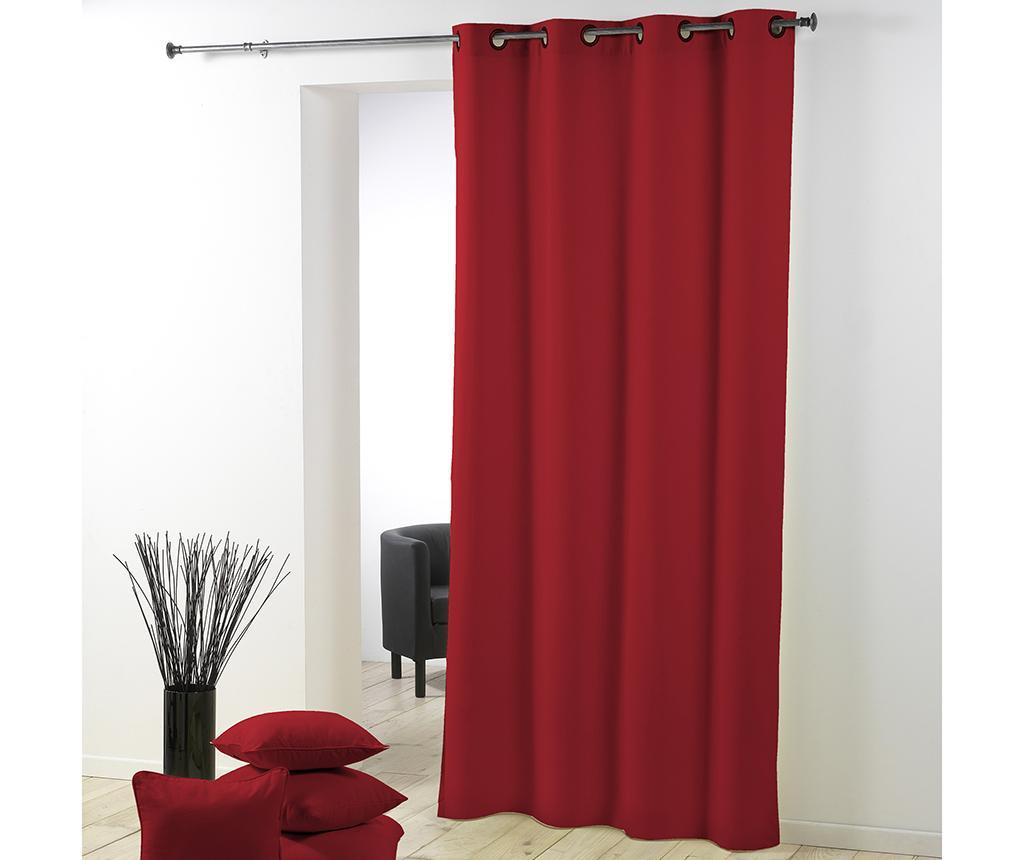 Draperie Essentiel Red 140x260 cm