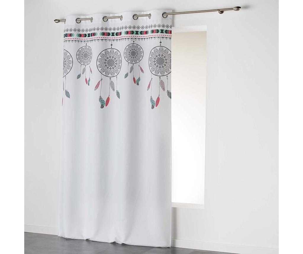 Draperie Indila Top White Mint 140x260 cm