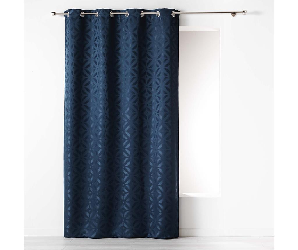 Zastor Majestic Dark Blue 140x260 cm