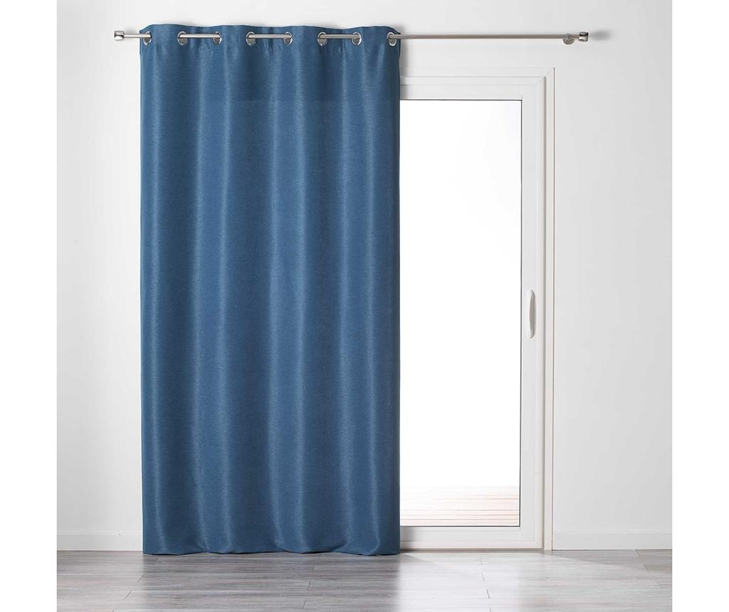 Draperie Glory Dark Blue 140x240 cm