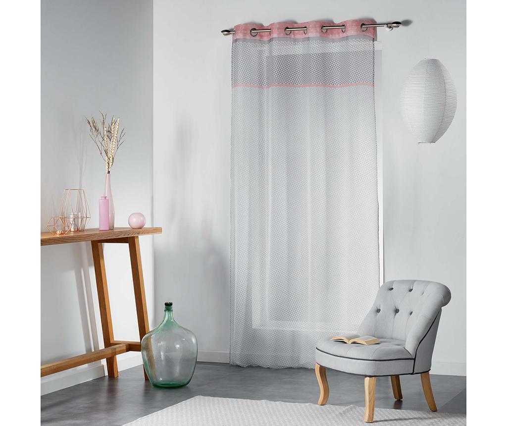 Zavjesa Matik Pink 140x240 cm