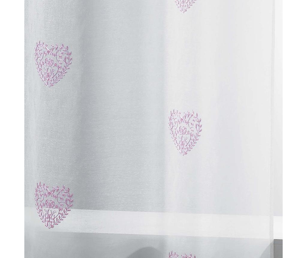Perdea Sweety Heart Pink 140x240 cm
