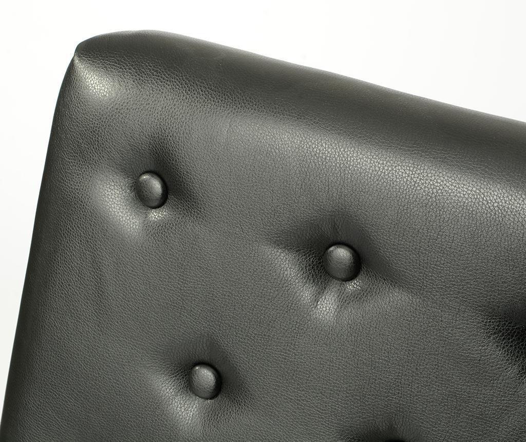 Табла за легло Alec Noir 180 см